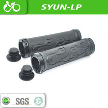 flame shape black bike grip hot sale bike accessories of sanyun main parts