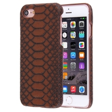 For iPhone 7 Snakeskin Texture Paste Skin PC <strong>Protective</strong> Case