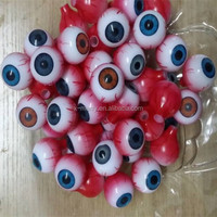 X-MERRY Various Colors Eyeballs Halloween Props HALLOWEEN HORROR Movie PROP RIPPED OUT EYEBALL !