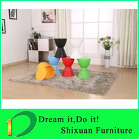 colored plastic stool rest chair