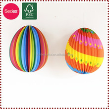 Egg shape waterproof paper lanterns as Easter decorations