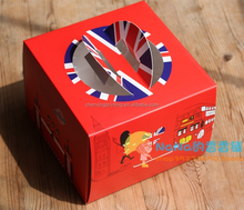 England Royal Guard cake box /Mousse box/ Children birthday cake box