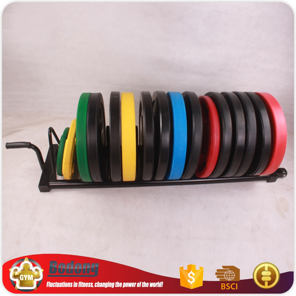 Newest multi-function weight plate rack barbell gym rack from china
