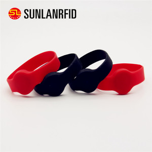Adjustable Custom Waterproof Silicone Smart Wristband Silicone 125khz rfid silicone wristband ( FREE SAMPLE )