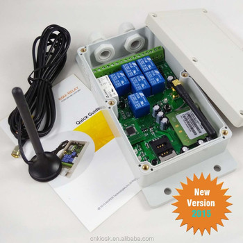 GSM Remote control box Dial2Relay (QUAD band,7 Relay Output)