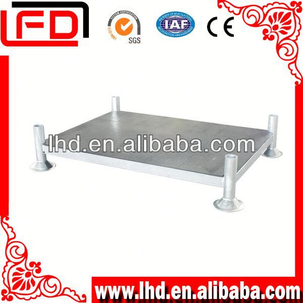 Logistic powder coating steel rack of clothing