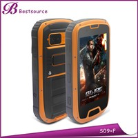 IP68 4.3 inch MTK6589W quad core 1G 4G IPS screen WCDMA 850/1900/2100 rugged android cdma smart phone with NFC