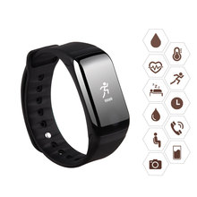 Smart Bracelet with Blood Pressure Blood Oxygen Smart Watch Heart Rate Monitor Wristband Fitness Tracker IP68 Waterproof