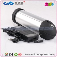 Hot selling 36v 10ah electric bike li ion battery 36v10ah water bottle battery for ebike with free charger