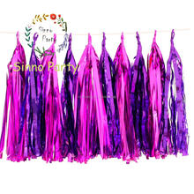 Handmade Tissue Paper Tassel-Garland Craft Supply, Party Supply for Wedding Decoration, Party Decoration
