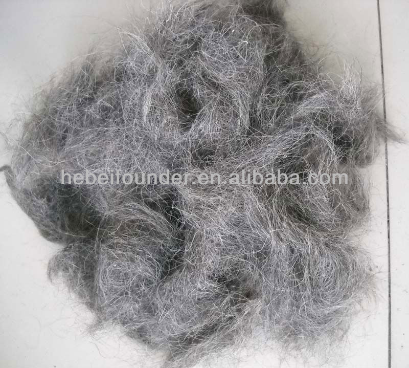 Mixed colorGoat hair combings,Used for carpet yarn spinning or nonwoven