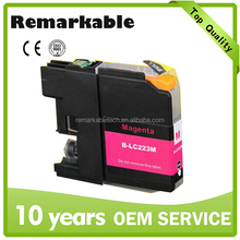 LC223 compatible ink cartridge for Brother Refillable ink cartridge for Brother Laster version chips