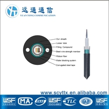 GYDXTW solid Aerial or Duct 4 core fiber optic cable