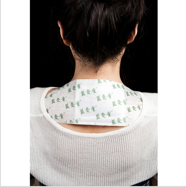 Chinese traditional moxibustion therapy patch remove toxins and humid air activated heat wrap with medical