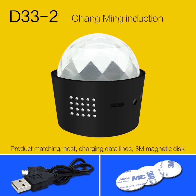 2019 new product third dynasties portable D33-2 DJ headlight LED light carry around in any where