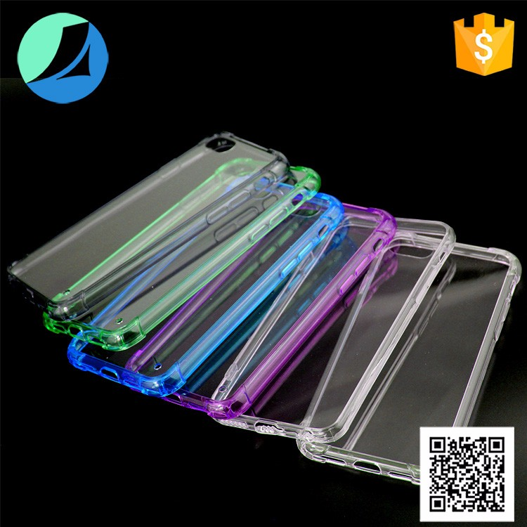 2017 New Arrival Colorful tpu acrylic case for iphone 7 tpu pc for iphone 7 case