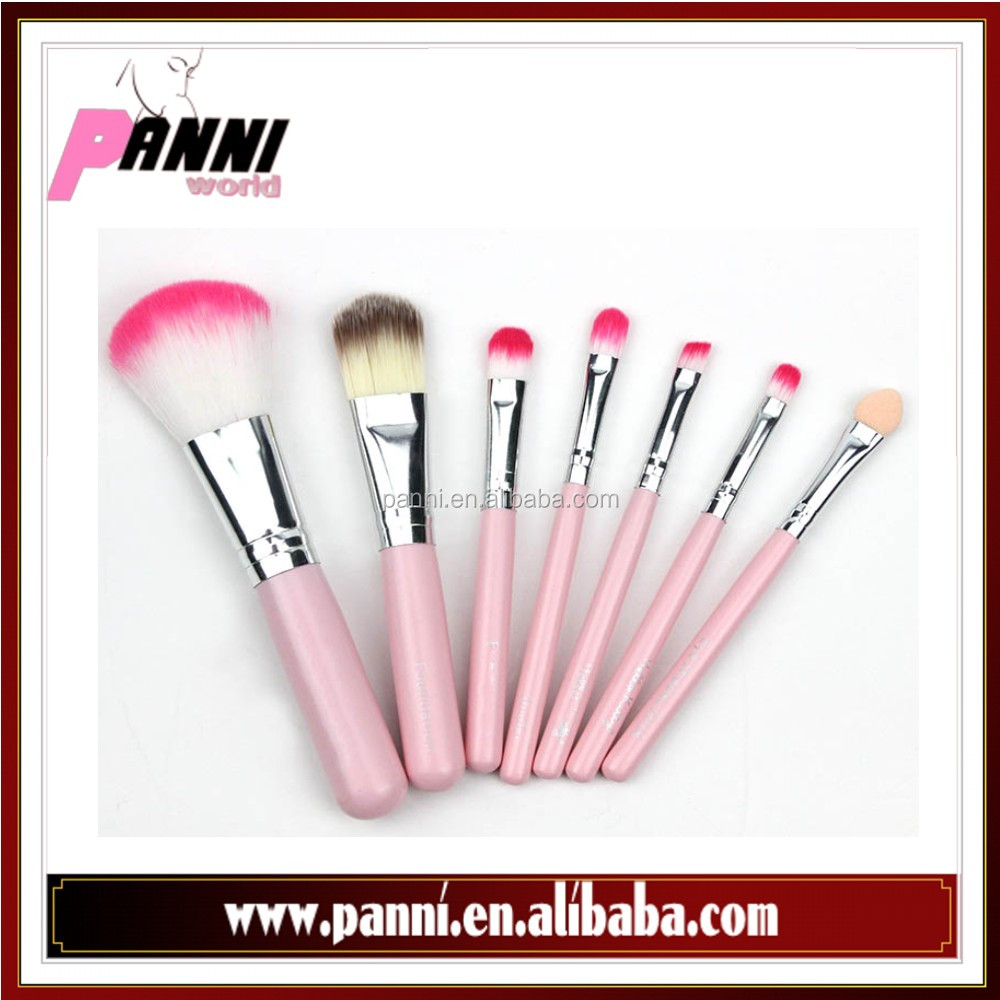 New product 7pcs iron box cosmetic brush portable makeup brush set makeup <strong>beauty</strong> tools
