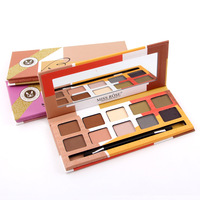 MISS ROSE High Quality 10 Colors Long-lasting Eyeshadow Palette Professional Makeup