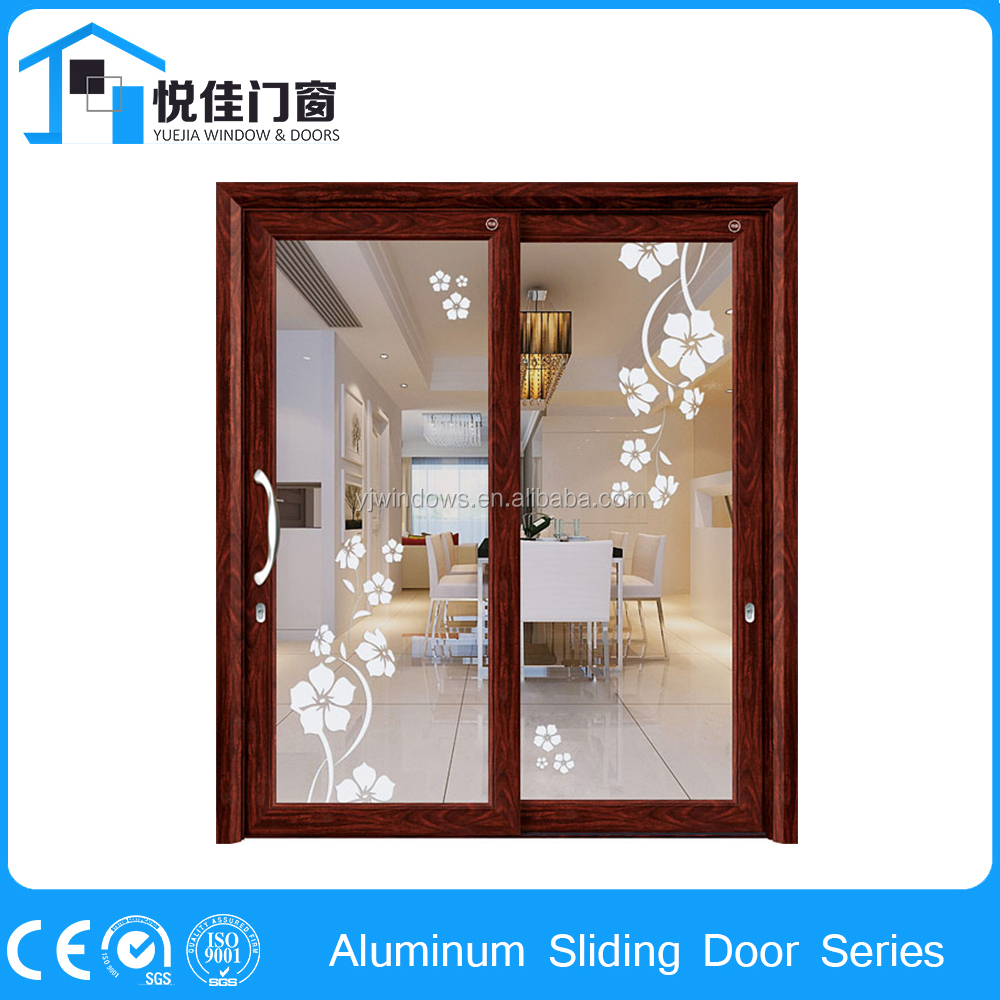 High quality sliding office doors partition with door
