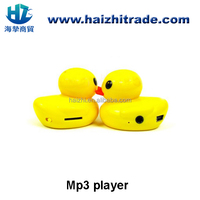 New Hot Sale Mini Cute Duck animal shaped MP3 Music Player