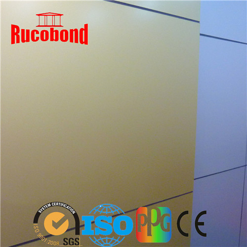 Exterior Wall Cladding 4mm Aluminium Composite Panel