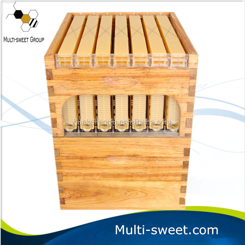 7 Auto Flow Honey Frames with10-Frame Langstroth Beehive