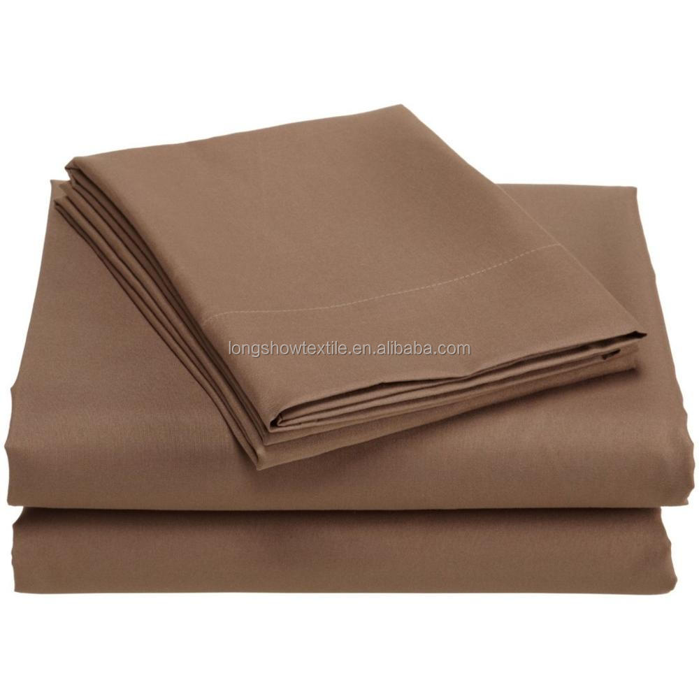 soft like 1800tc egyptian cotton microfiber bed sheet set