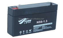 6V1.3AH Lead-acid Battery for Emergency Light Rechargeable Battery for Electric Toys