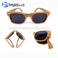 Brightlook with CE&FDA certificate wood bamboo folding sunglasses