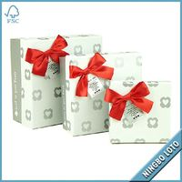 Professional factory supply good quality tulip gift boxes