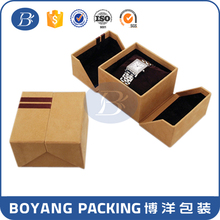 Luxury present packing watch box paper