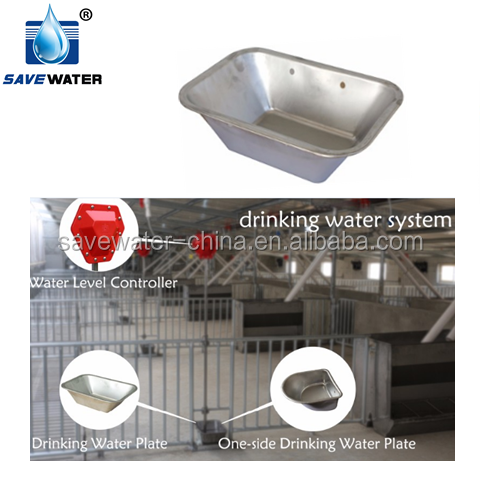 New design Automatic Pig Drinking Water trough save water