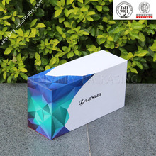 Fashion recyclable paperboard box packaging iphone box effect