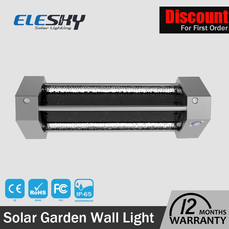 Shenzhen high brightness garden waterproof outside solar wall lights