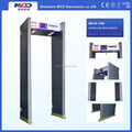 Indoor Infrared Walkthrough Metal Detector with 6 High sensitivity Detection Zone