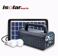 IS-1377S on grid generator solar power system for home for pakistan with Luz LED