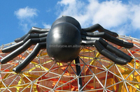 Inflatable Halloween Black Spider with Airblown