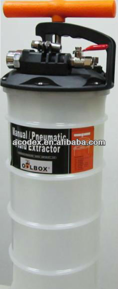 6L Manual and Pneumatic Fluid Extractor