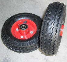 "top quality lower price pneumatic rubber wheel 6""x2"""