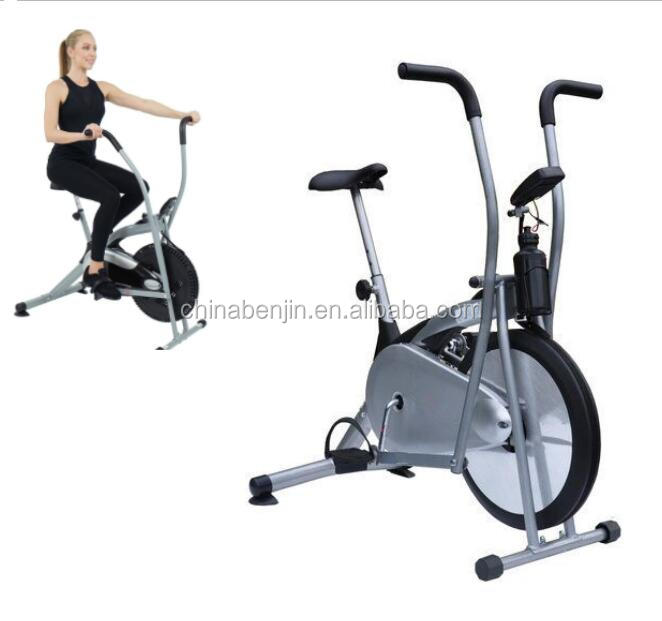 Home Gym Office Fitness Assault Spinning Air Bike Exercise Upright Running Machine Workout