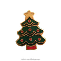 Christmas Tree lapel pin brooch badges Christmas gifts crafts