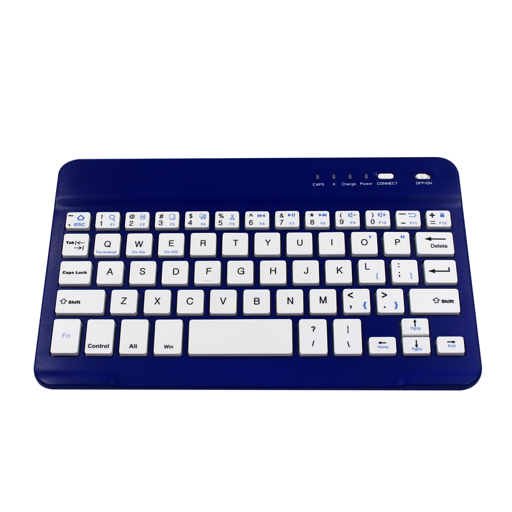 Ultra-Slim (4mm) Wireless Keyboard Li-polymer Rechargeable Battery keyboard for iOS (iPad Air 2 / Air, iPad mini 3 / mini 2