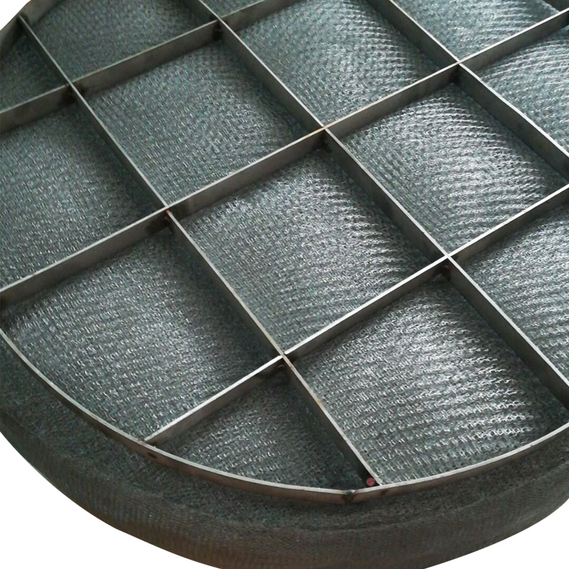 Best price stainless steel demister pad in boiler steam drum