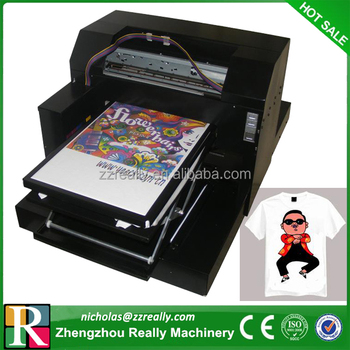 Automatic digital fabric cotton t shirt screen printing for T shirt screen printers for sale