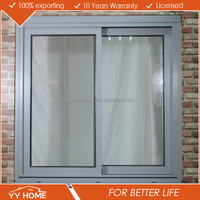 Australian Standard double glazed sliding window aluminium insect screen