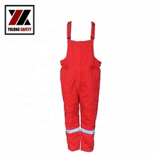 Welding work wear reflective cargo <strong>orange</strong> bib work pants