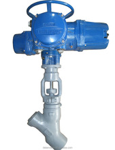 Electric Y/T-Type Forged Steel Stainless Steel/Alloy Steel Globe Valve