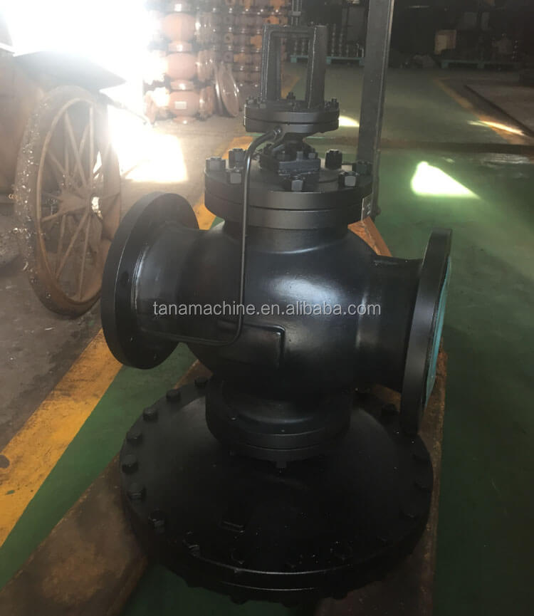 Flange connection cast iron steam water pressure reducing valve