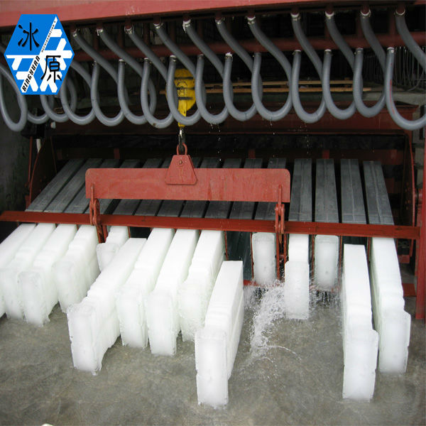 ammonia refrigeration system for block ice factory