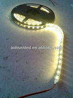 white SMD5050 flexible black pcb smd led strip for decoration